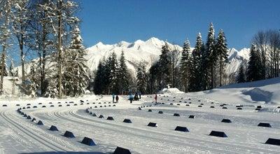 Photo of Ski Trail Лыжно-биатлонный комплекс «Лаура» at Красная Поляна, Сочи, Russia