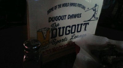 Photo of Restaurant The Dugout Sports Lounge at 4016 Clemson Blvd, Anderson, SC 29621, United States