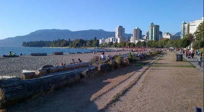 Photo of Beach English Bay Beach at Beach Ave, Vancouver, Br, Canada
