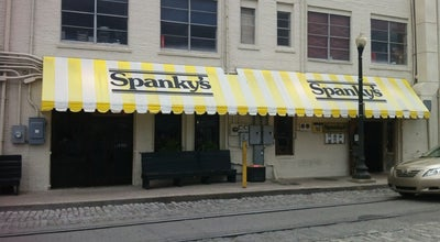 Photo of American Restaurant Spanky's Pizza Galley & Saloon at 317 E River St, Savannah, GA 31401, United States