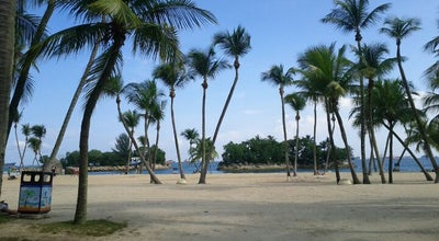 Photo of Beach Siloso Beach at Siloso Beach Walk, Sentosa Island 098998, Singapore