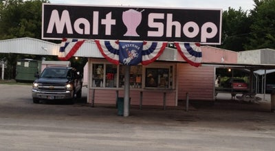 Photo of American Restaurant Malt Shop at 2028 Fort Worth Hwy, Weatherford, TX 76086, United States