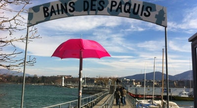 Photo of Beach Bains des Paquis at Quai Du Mont-blanc 30, Geneva 1201, Switzerland