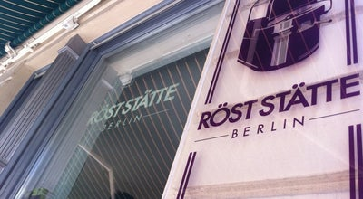 Photo of Cafe Röststätte Berlin at Ackerstr. 173, Berlin 10115, Germany