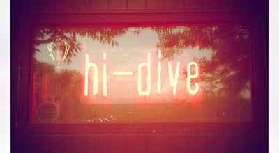 Photo of Nightclub The Hi-Dive at 7 S Broadway, Denver, CO 80209, United States