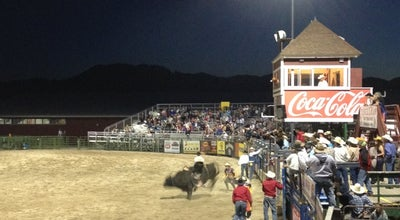 Photo of Tourist Attraction Jackson Hole Rodeo Grounds at 447 W Snow King Ave, Jackson, WY 83001, United States