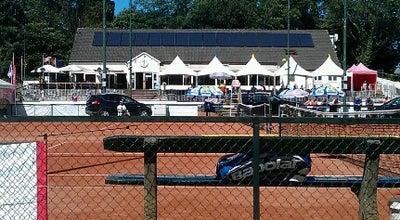 Photo of Tennis Court Tennis 7e Olympiade at Julius De Geyterstraat 133, Wilrijk 2020, Belgium