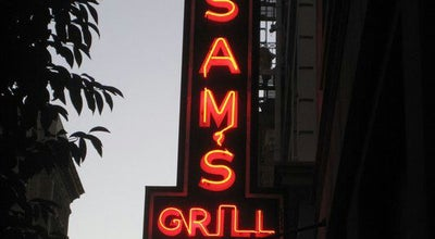 Photo of Steakhouse Sam's Grill & Seafood Restaurant at 374 Bush St, San Francisco, CA 94104, United States