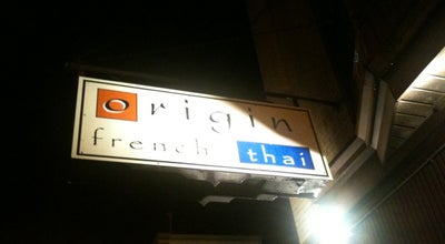 Photo of Asian Restaurant Origin at 25 Division St., Somerville, NJ 08876, United States