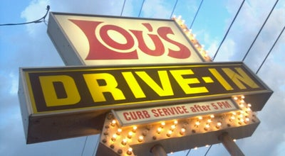 Photo of Fast Food Restaurant Lou's Drive -in at 4229 N Knoxville Ave, Peoria, IL 61614, United States