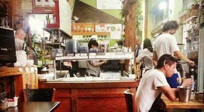 Photo of Mediterranean Restaurant Buddha Burgers - Vegan Deli at 21 Yehuda Ha-levi, Tel Aviv 6513715, Israel