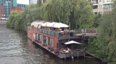 Photo of Mediterranean Restaurant Patio at Helgoländer Ufer / Kirchstrasse, Berlin 10557, Germany