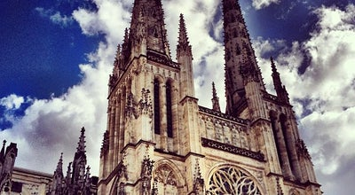 Photo of Monument / Landmark Cathedrale Saint-Andre at Place Pey Berland, Bordeaux, France