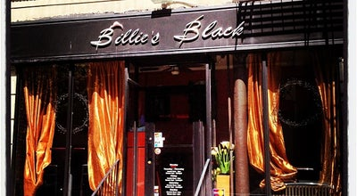 Photo of American Restaurant Billie's Black at 271 W 119th St, New York City, NY 10026, United States