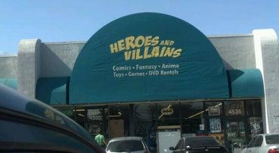 Photo of Bookstore Heroes & Villains at 4533 E Broadway Blvd, Tucson, AZ 85711, United States