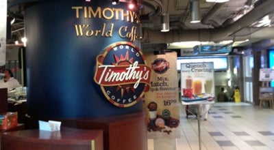 Photo of Coffee Shop Timothy's World Coffee at 90 Eglinton Ave E, Toronto, ON M4P 1A6, Canada