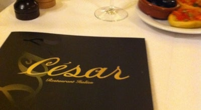 Photo of Italian Restaurant César Restaurant at 12 Avenue De Wagram, Paris 75008, France