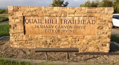 Photo of Trail Quail Hill Trailhead at 34 Shady Canyon Dr, Irvine, CA 92603, United States