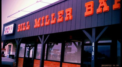 Photo of BBQ Joint Bill Miller Bar-B-Q at 8103 Burnet Rd, Austin, TX 78757, United States