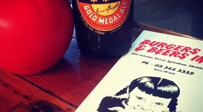 Photo of Bar Burgers & Beers Inc. at 355-357 Colombo Street, Christchurch, New Zealand
