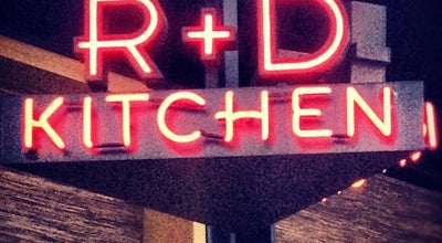 Photo of American Restaurant R+D Kitchen at 1323 Montana Ave, Santa Monica, CA 90403, United States