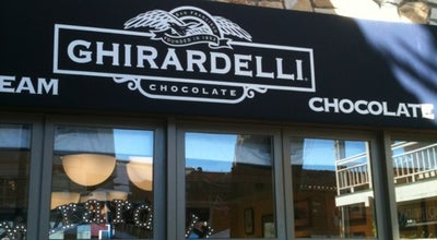 Photo of Restaurant Ghirardelli Ice Cream & Chocolate Shop at 660 Cannery Row, Monterey, CA 93940, United States