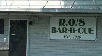 Photo of American Restaurant Ro's Barbecue at 1318 Gaston Ave, Gastonia, NC 28052, United States
