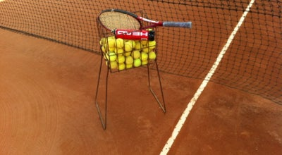 Photo of Tennis Court Marco Silva Academia de Tênis at R. Santo Amaro, 470, Curitiba 80620-330, Brazil