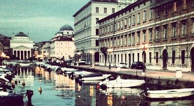 Photo of Lake Canale Grande at Via Gioacchino Rossini 8, Trieste 34132, Italy