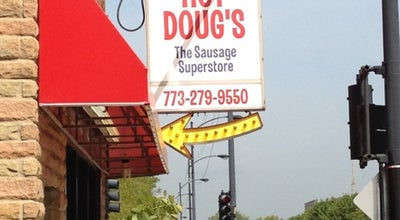 Photo of Other Venue Hot Doug's at 3324 N California Ave, Chicago, IL 60618