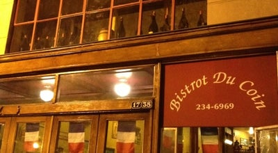 Photo of French Restaurant Bistrot Du Coin at 1738 Connecticut Ave Nw, Washington, DC 20009, United States