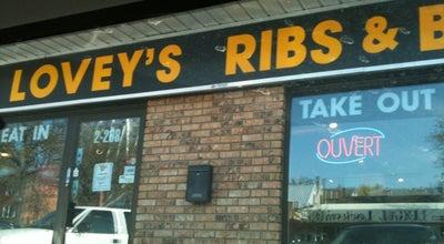 Photo of American Restaurant Lovey's BBQ & Smokehouse at Unit 1 - 208 Marion Street, Winnipeg, MB R2H OT6, Canada
