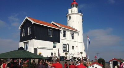Photo of Lighthouse Paard van Marken at Marken, Netherlands