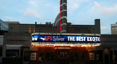 Photo of Theater AFI Silver Theatre and Cultural Center at 8633 Colesville Rd, Silver Spring, MD 20910, United States