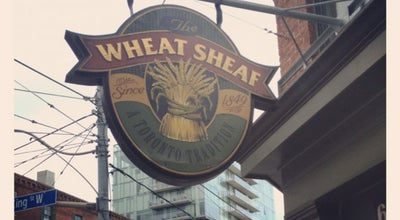 Photo of Pub The Wheat Sheaf at 667 King St W, Toronto, ON M5V 1M9, Canada