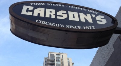 Photo of American Restaurant Carson's Ribs at 612 N Well St, Chicago, IL 60654, United States