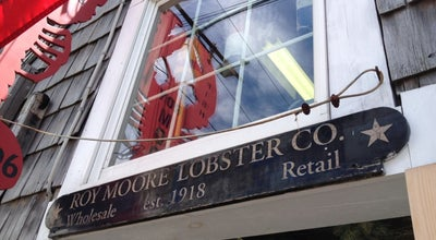 Photo of American Restaurant Roy Moore Lobster Co at 39 Bearskin Nck, Rockport, MA 01966, United States