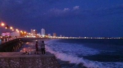 Photo of Beach Malecón at Av Del Mar, Mazatlán, Mexico