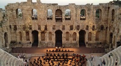 Photo of Historic Site Herod Atticus Odeon at Διονυσίου Αρεοπαγίτου, Athens, Greece