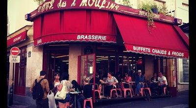 Photo of French Restaurant Cafe des Deux Moulins at 15 Rue Lepic, Paris 75018, France