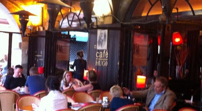 Photo of French Restaurant Cafe Hugo at 22 Place Des Vosges, Paris 75004, France