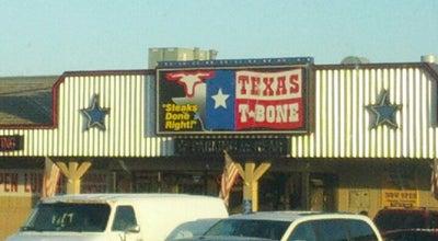Photo of American Restaurant Texas T-Bone Steakhouse at 1201 S Locust St, Grand Island, NE 68801, United States