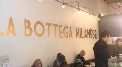 Photo of Italian Restaurant La Bottega Milanese at The Light 11a The Headrow, Leeds LS1 8TL, United Kingdom