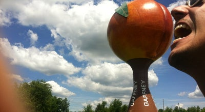 Photo of Monument / Landmark The Peachoid at Interstate 85 Near The Exit For S.c. Highway 11 The Cherokee Foothills Scenic Highway, Gaffney, SC 29341, United States