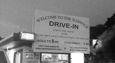 Photo of Indie Movie Theater Warwick Drive-In Theater at 5 Warwick Turnpike, Warwick, NY 10990, United States