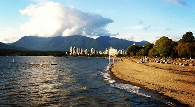 Photo of Beach Kitsilano Beach at Cornwall Ave, Vancouver, Canada