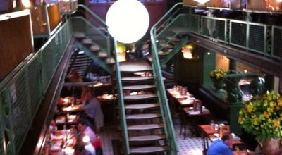 Photo of French Restaurant La Quincaillerie at 45 Rue Du Page, Brussels 1050, Belgium