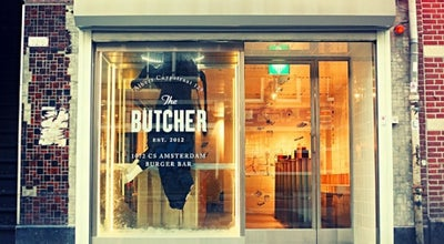 Photo of American Restaurant The Butcher at Albert Cuypstraat 129, Amsterdam 1072 CS, Netherlands