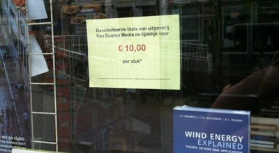 Photo of Bookstore Boekhandel Waltman at Binnenwatersloot 33, Delft 2611 BJ, Netherlands