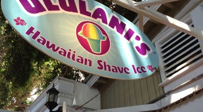 Photo of Fast Food Restaurant Ululani's Hawaiian Shave Ice at 819 Front St, Lahaina, HI 96761, United States
